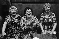 Laughing women in a bar, Belgium La Louviere, 1979 © Richard Calvar/Magnum…