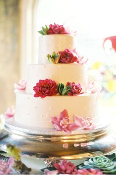 Wedding Magazine - Real wedding cakes-