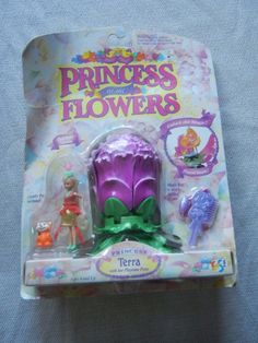 VIntage Princess of the Flowers - Princess Terra -- New in Original Package | eBay