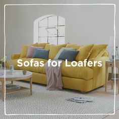 From buttoned-back to Chesterfields, deep cushioned and feather filled, we have a sofa to suit you! Chaise Sofa, Couch, Free Fabric Swatches, Comfy Sofa, Chesterfield, Snug, Sofas, Your Style, Feather