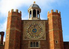 Hampton Court astronomical clock