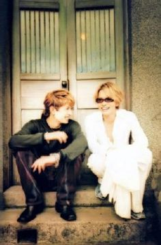 Gackt and Hyde = Moon Child photo
