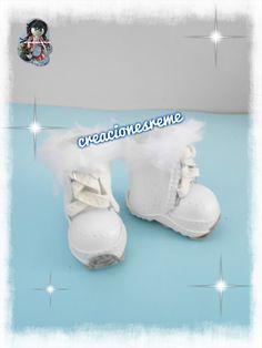 Muñequitas fofuchas de goma eva Creacionesreme botitas nieve fofuchas