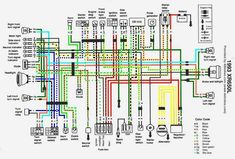 c405cf4017dc9a9a0cf79c9cfe99c3c8 in color crossword xr650l wiring diagram in color advrider moto days pinterest honda ft500 ignition system wiring diagram at gsmportal.co