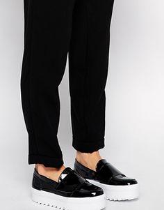 Shellys London Umireri Patent PU Flatform Shoes