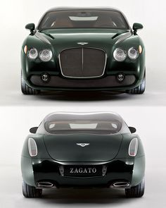 Visit The MACHINE Shop Café... ❤ Best of Bentley @ MACHINE ❤ (2006 Bentley Continental GTZ by Carrozzeria Zagato of Milan)