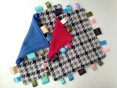 DIY Tutorial for a Taggie Blanket Lookalike | How to Make a Tag Blanket - Tag Blanket Tutorial - How to Make a Lovey Blanket - How to Sew a Tag Blanket