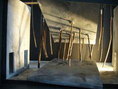 Falstaff, Scottish Opera. Design by Tom Piper. Model. Herne's oak