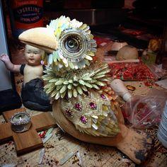 A new bird.... www.byart.com Betsy Youngquist BYART on Facebook