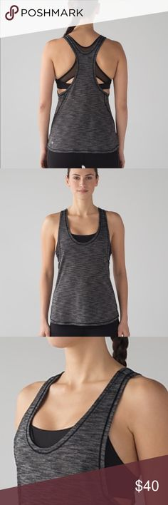 Lululemon Glide and Stride Tank New with tags! Top with bra. No trades. lululemon athletica Tops Tank Tops