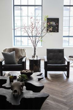 wood mix casual living room