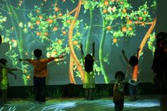 Funky Forest, a concept launched on the Cinekid Festival in Amsterdam, later installed into the Singapore Art Museum