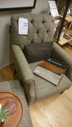 Harris Tweed Flynn chair