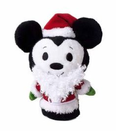 Hallmark itty bittys Mickey Claus Limited Edition (Plush)