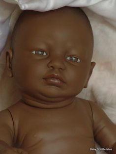 New Diana Newborn African A Baby Doll 21 Real Girl