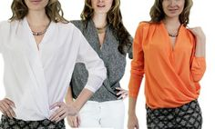 Groupon - Harve Benard Blouses. Multiple Styles Available. Free Returns. in Online Deal. Groupon deal price: $29.99