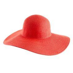 J.Crew summer straw hat $34.50
