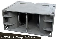 icu ~ Pin di audio ~ Subwoofer latest design with passive air cooling system. Pro Audio Speakers, Car Audio Amplifier, Jl Audio, Subwoofer Speaker, Diy Speakers, Subwoofer Box Design, Speaker Box Design, Speaker Plans, Speaker System