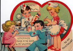 1920s VintageTo My Sweetheart American Diner by poshtottydesignz