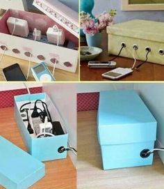 A good way to hide ugly wires