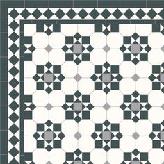 23 Ideas Bath Room Floor Victorian Tile Design For 2019 Victorian Tiles, Victorian Kitchen, Victorian Bathroom, Victorian Flooring, Victorian Pattern, Hall Tiles, Tiled Hallway, Entry Tile, Floor Patterns