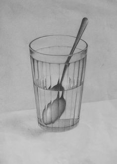 demiart.ru / ... - - #demiartru Cool Art Drawings, Pencil Art Drawings, Realistic Drawings, Art Drawings Sketches, Easy Drawings, Shadow Drawing, Painting & Drawing, Geometric Shapes Art, Observational Drawing