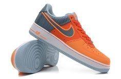 Brand New Nike Air Force 1 – Low Color White Orange Gray Carbon Fiber |Check them out on eBay-Rare...