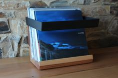 Record LP Stand by HaydenMelbourne on Etsy