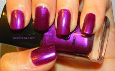 elf Royal Purple nail polish