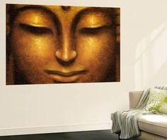 Siddhartha Buddha Mini Mural Huge Poster Art Print Tapettijuliste