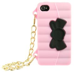 PINK & BLACK PURSE IPHONE 4/4S CASE (PRE-ORDER). - ACCESSORIES