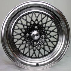 NS Wheels MDIV2 16 x 9.5 +0 Gun Metal Deep Step Lip Rims 4x4.5 Stance Hellaflush
