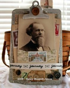 Clarence Altered Clipboard by Sugar Lump Studios, via Flickr