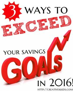 Here are three ways I am exceeding my financial goals. You can do it too! #LetsTalkCents #ad