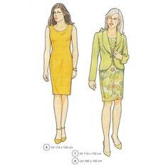 Moldes de vestidos, blazer e mais! (: