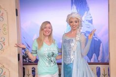 A Closer Look at Disney World's New Anna and Elsa Meet and Greet in Epcot  / Click to read this great article from the TouringPlans Blog.  Learn how you can get a free TouringPlans subscription from http://www.buildabettermousetrip.com/free-touring-plans