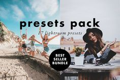 Lightroom Presets Pack - Best Selling Presets - VSCO Matte Soft Tones Fade - Lightroom Preset - For Wedding, Lifestyle, Modern Photography