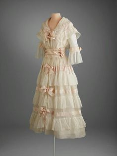 1917 Afternoon dress by Lucile.