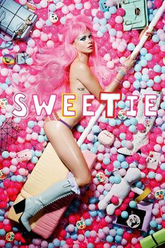 """blissfully-chic:  Cara Delevingne in """"Sweetie"""" for Love Magazine #12, F/W 2014-2015 Photographed by: Liz Collins"""