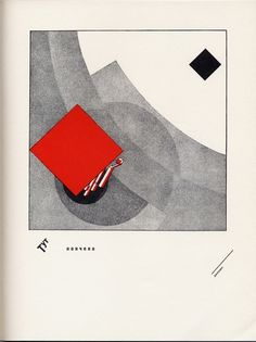 El Lissitsky, History of Two Squares (1922) - Signs