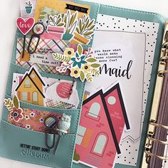 Scrapbook & Cards Today magazine blog feature with Layle Koncar using our Domestic Bliss collection