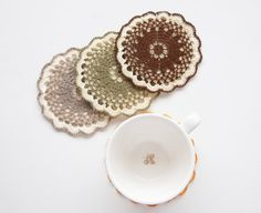 Etsy Transaction - Coaster // Hand Crocheted // Housewarming Gift // Gift for the Home // Wedding Gift