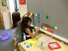All kinds of letter recognition / literacy activities