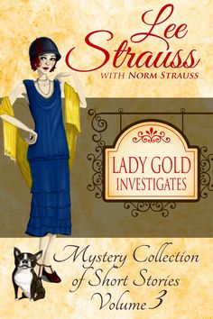 Lady Gold Investigates Volume a Short Read cozy historical mystery collection Murdoch Mysteries, Best Mysteries, Cozy Mysteries, Good Books, Books To Read, My Books, Popular Short Stories, Challenging Puzzles, Mystery Books