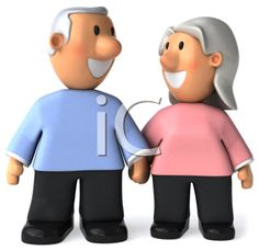 Grandparents Day Clipart - Holding Hands
