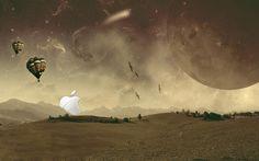 Free download Apple Sunrise hd Wallpaper