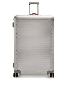 Bank Spinner 76 aluminium suitcase  | Fabbrica Pelletterie Milano | MATCHESFASHION.COM FR