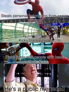 avengers meme spiderman- AHAHAHAA! This is hilarious