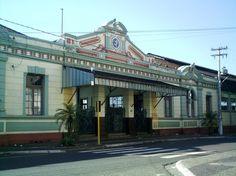 Rio Claro (SP) - antiga estação ferroviária