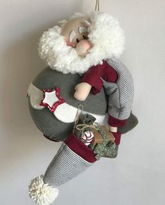 Sewn Christmas Ornaments, Christmas Sewing, Christmas Love, Christmas Themes, Handmade Christmas, Christmas Stockings, Christmas Crafts, Christmas Decorations, Holiday Decor